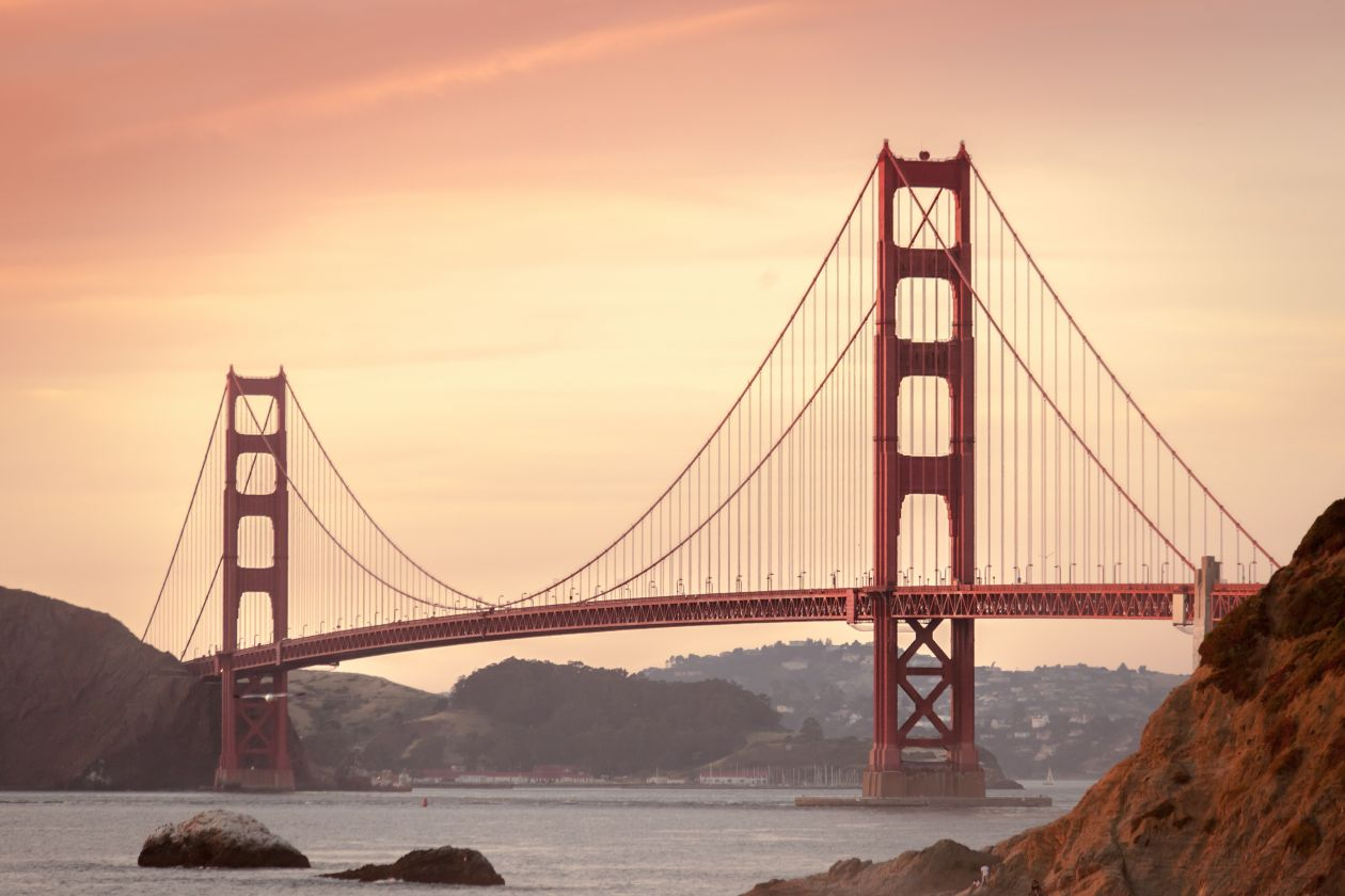 "Free photo ""Golden gate bridge"" by Chris Brignola"