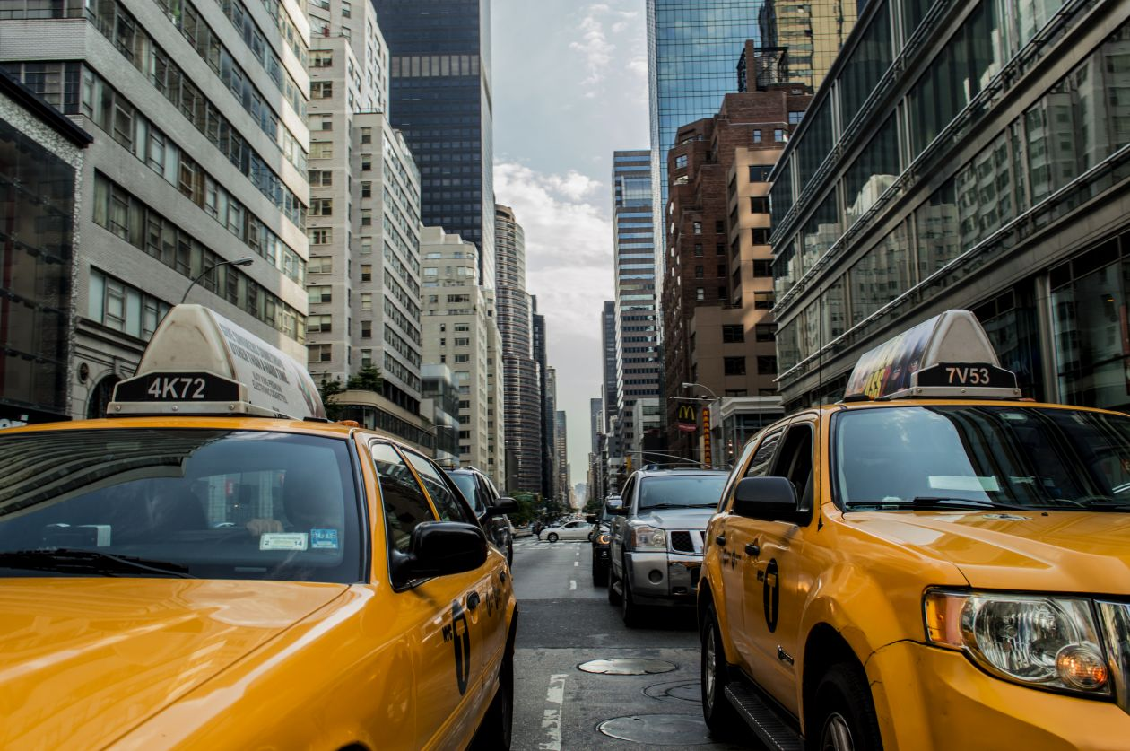 "Free photo ""Taxi"" by Andrew Ruiz"
