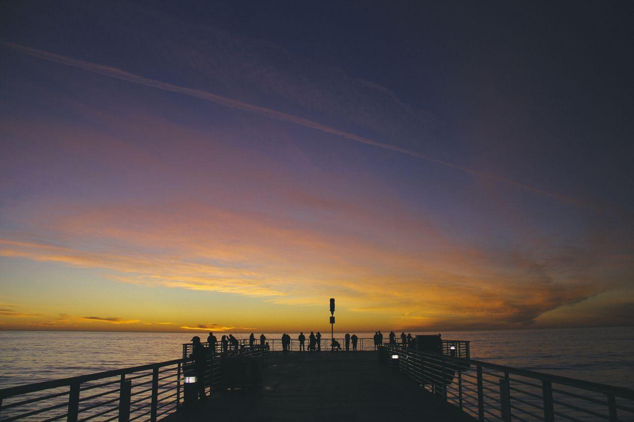 "Free photo ""Sunset"" by Gabriel Santiago"