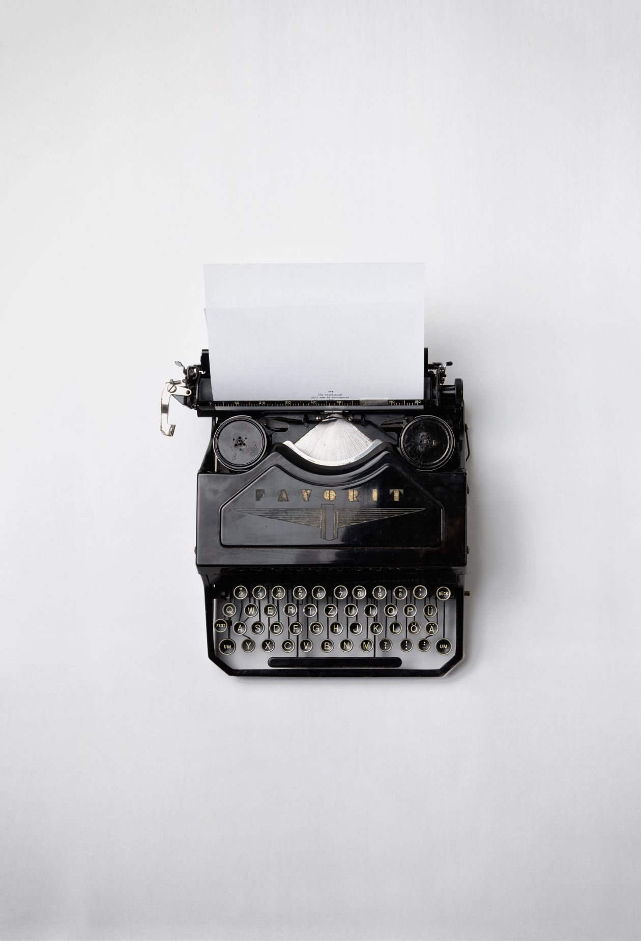 "Free photo ""Typewriter"" by Florian Klauer"