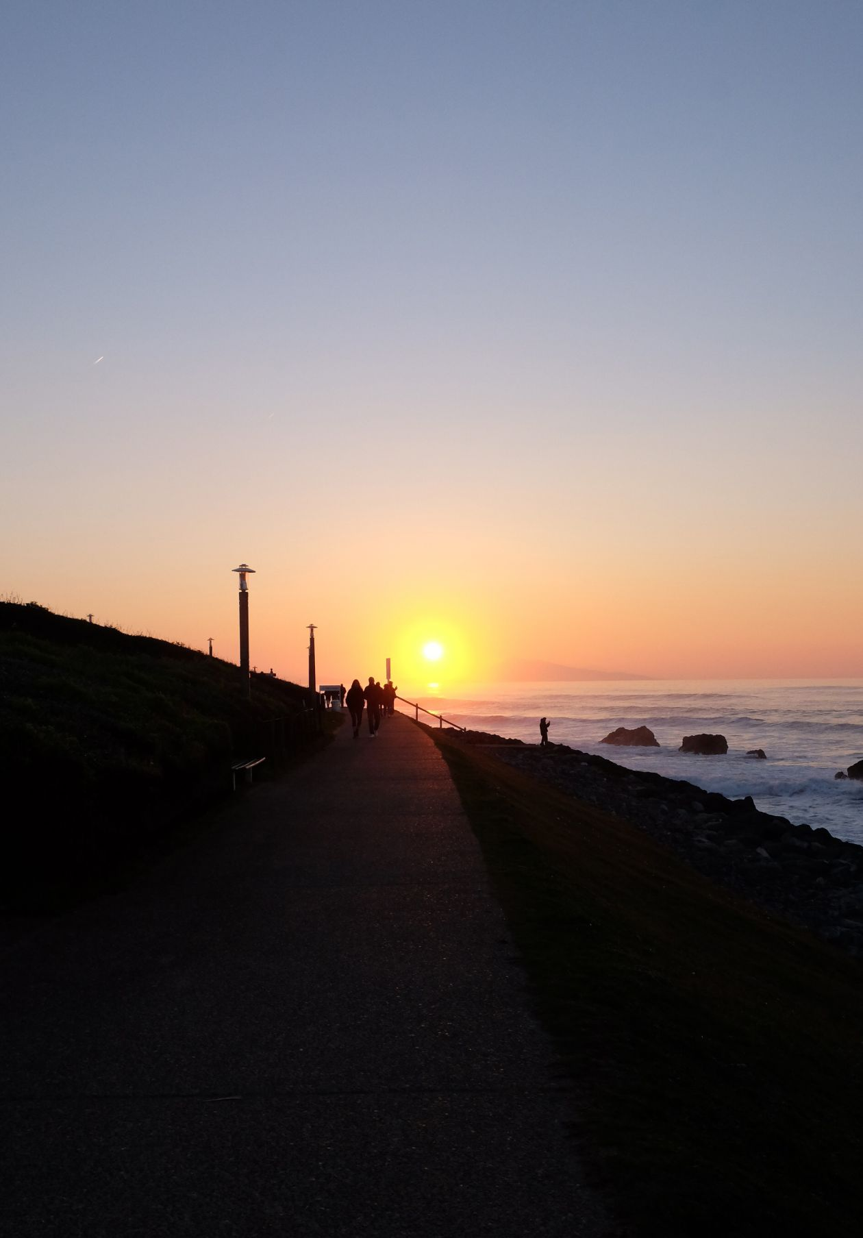 "Free photo ""Sunset"""