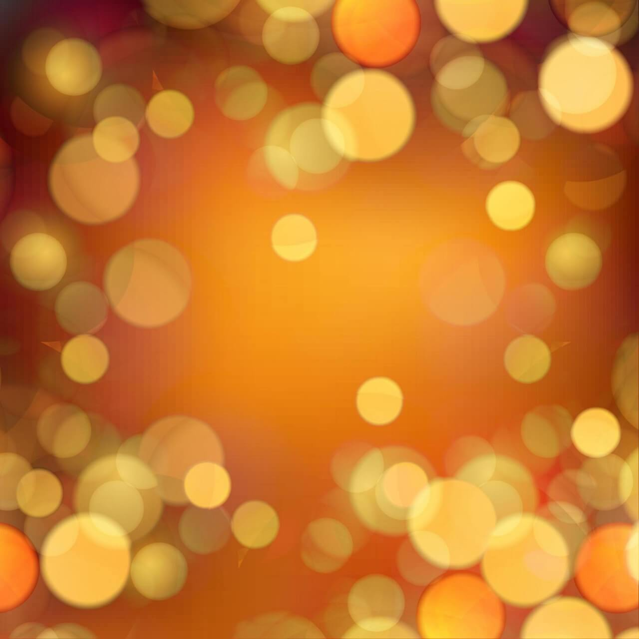 "Free vector ""Bokeh illustration"""
