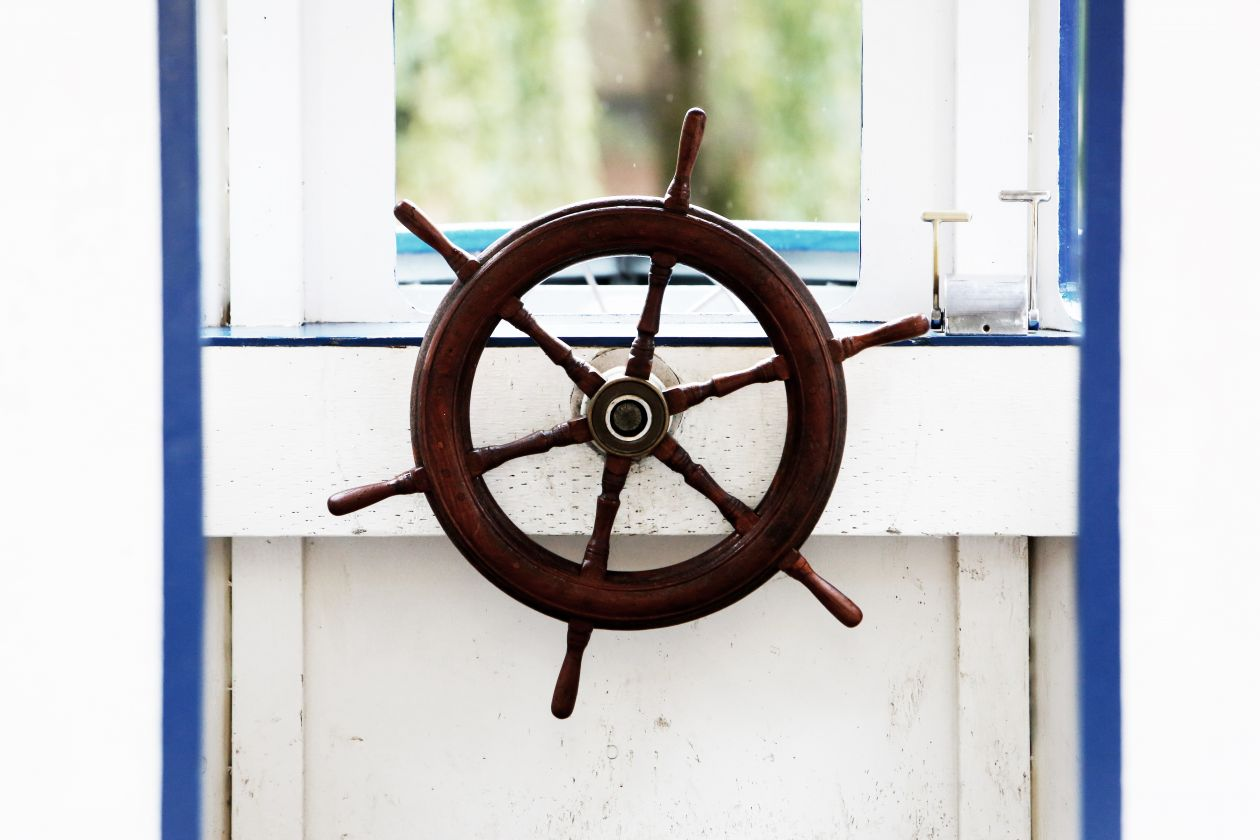 "Free photo ""Boat Helm"""