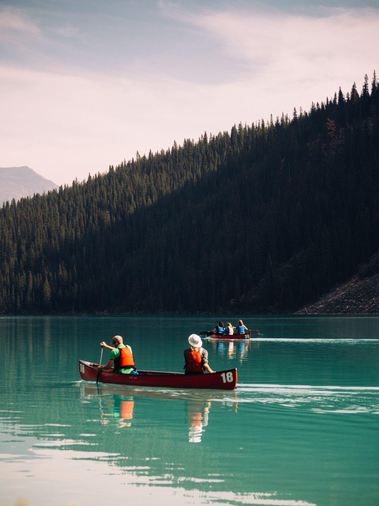 "Free photo ""Canoeing into the Wild"""