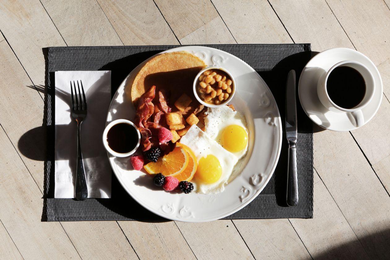 """Free photo """"Breakfast by Sunlight"""""""