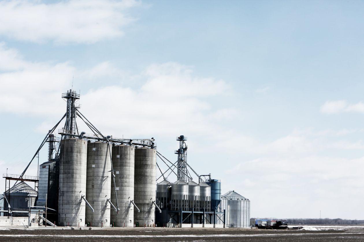 "Free photo ""Farm Silos"""