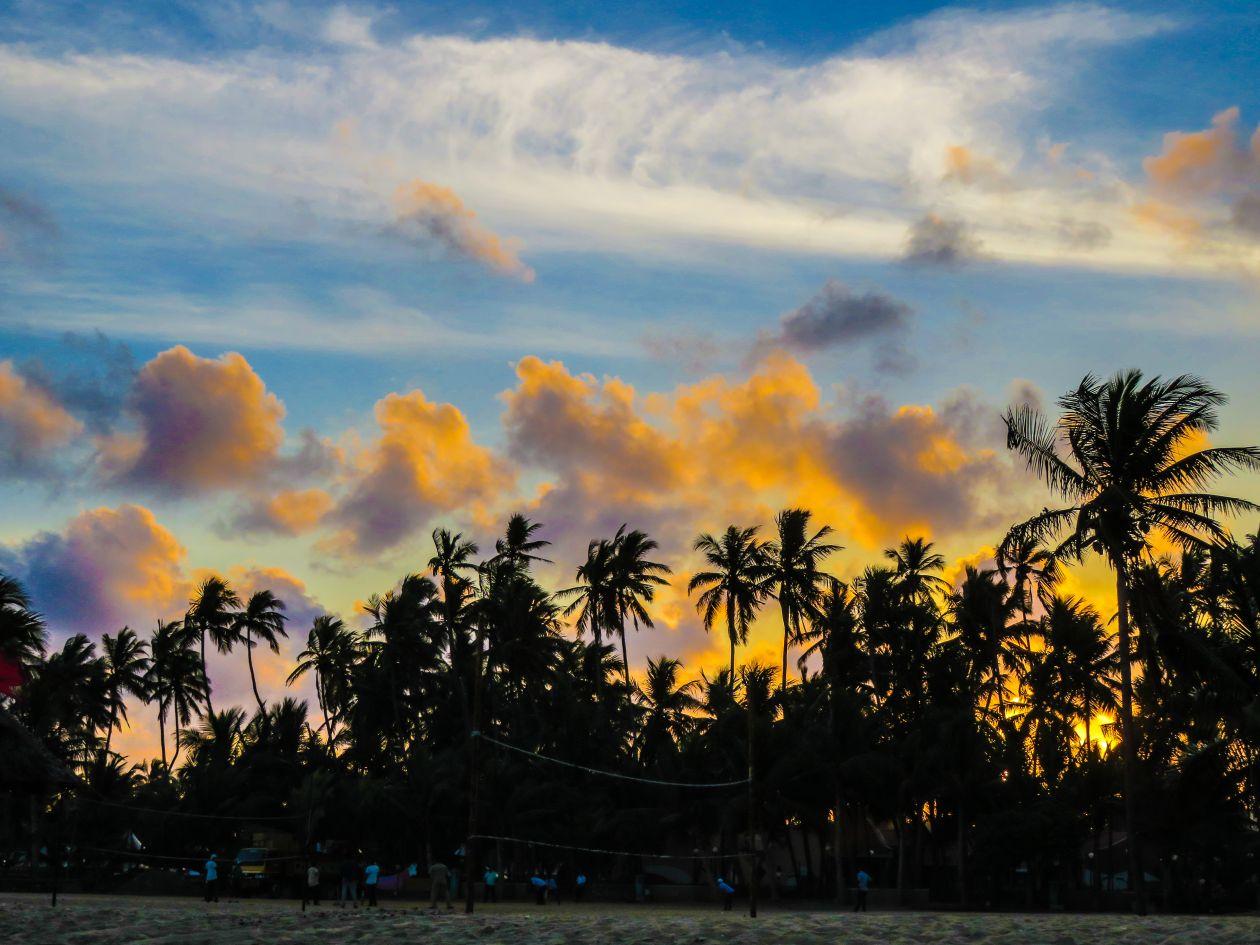"Free photo ""Island Sunset"""
