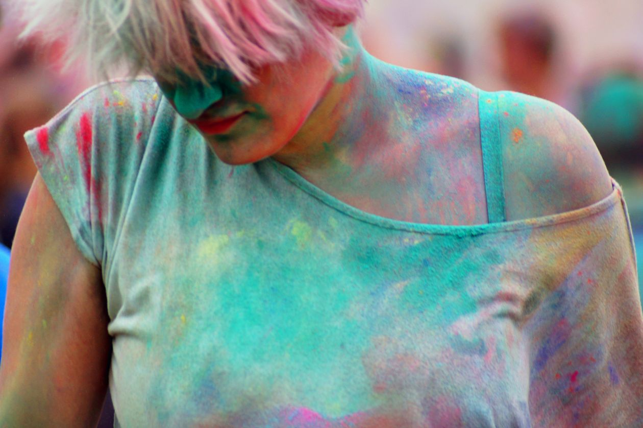 "Free photo ""Melted Colours"""