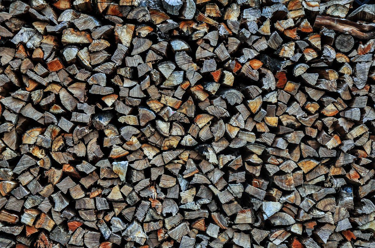 """Free photo """"Wood Pile"""""""