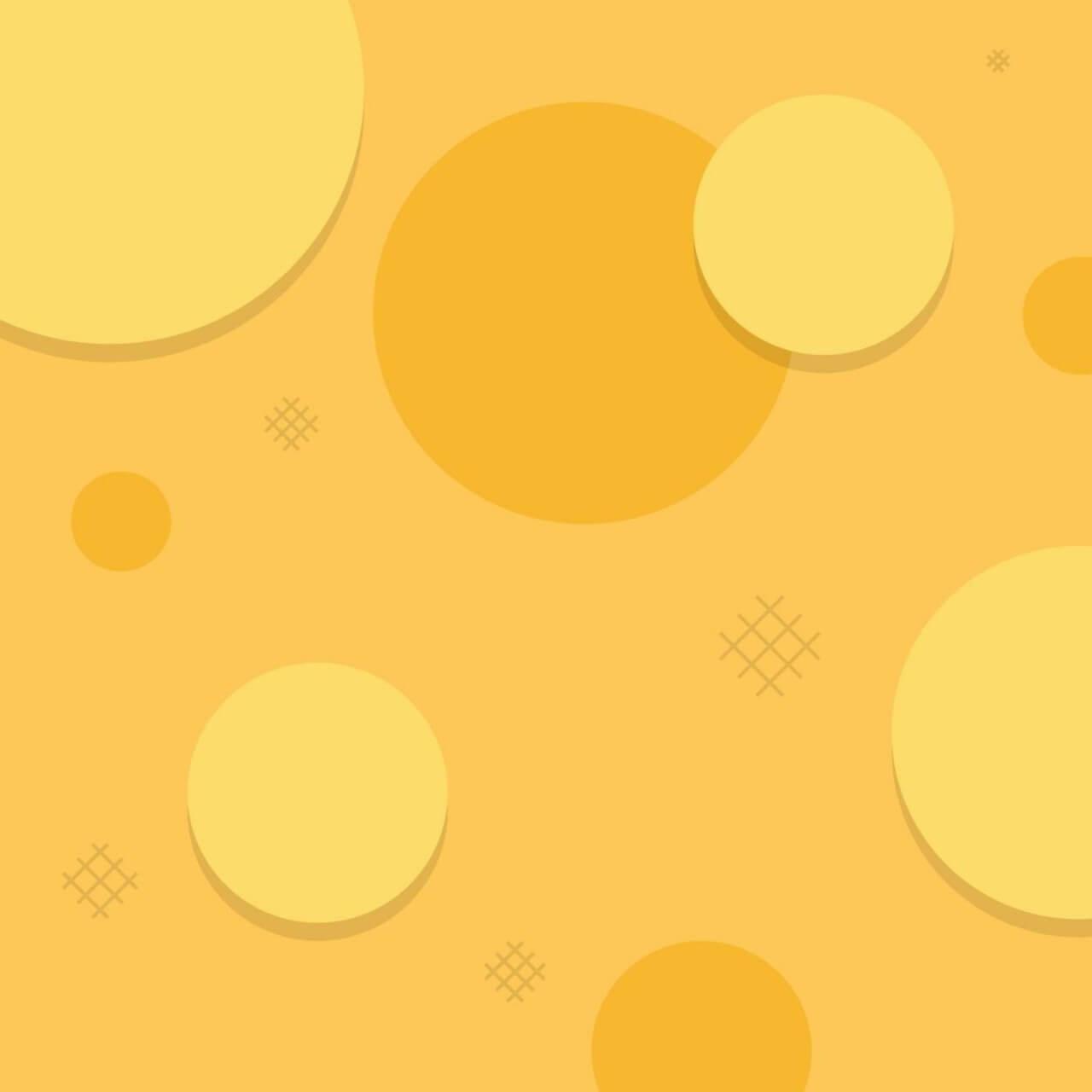 "Free vector ""Simple Orange Circles"""