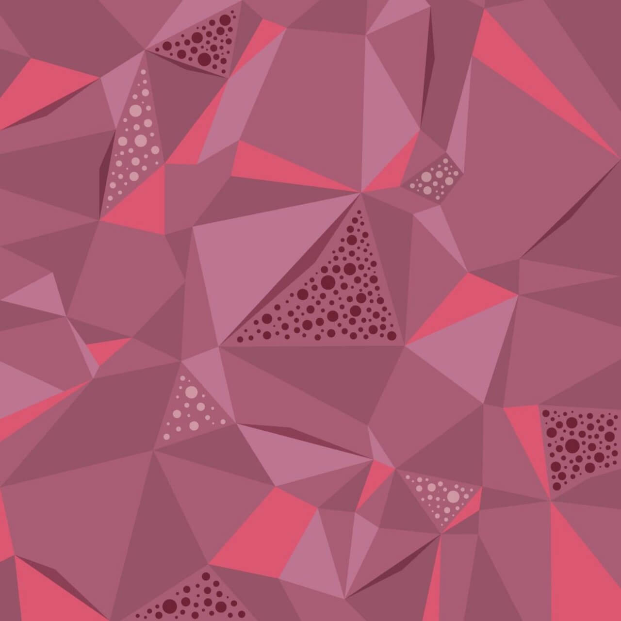 """Free vector """"Bubbly Abstract Polygons"""""""