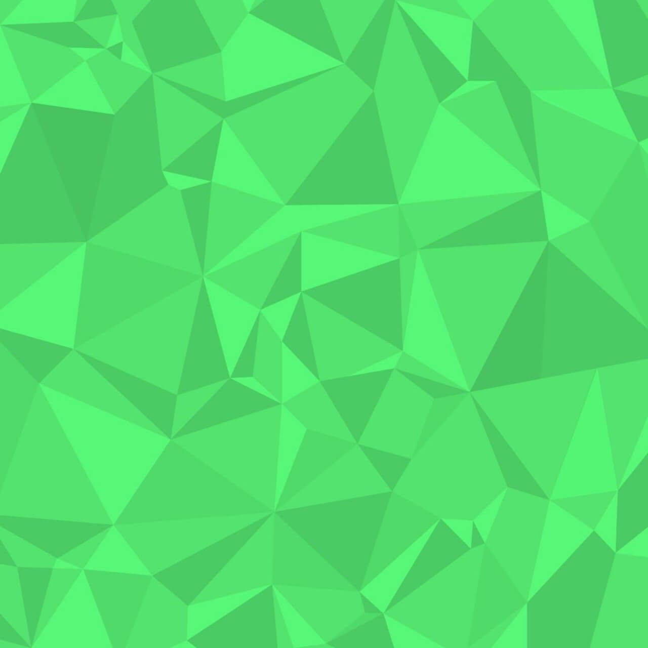 "Free vector ""Green Polygons"""