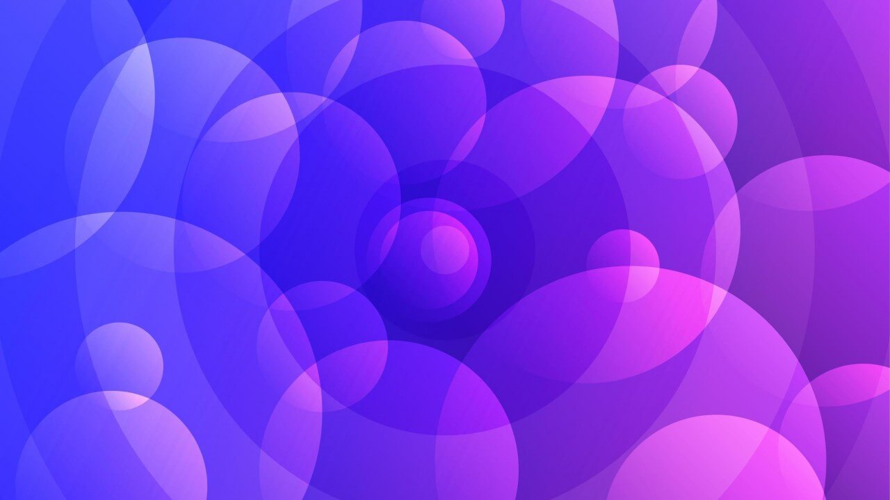 "Free vector ""Abstract Purple Circles"""
