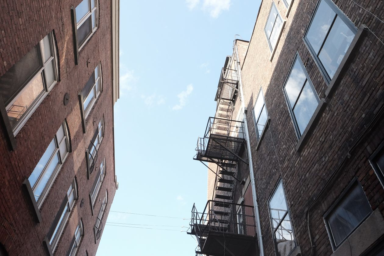 "Free photo ""Fire escape"""
