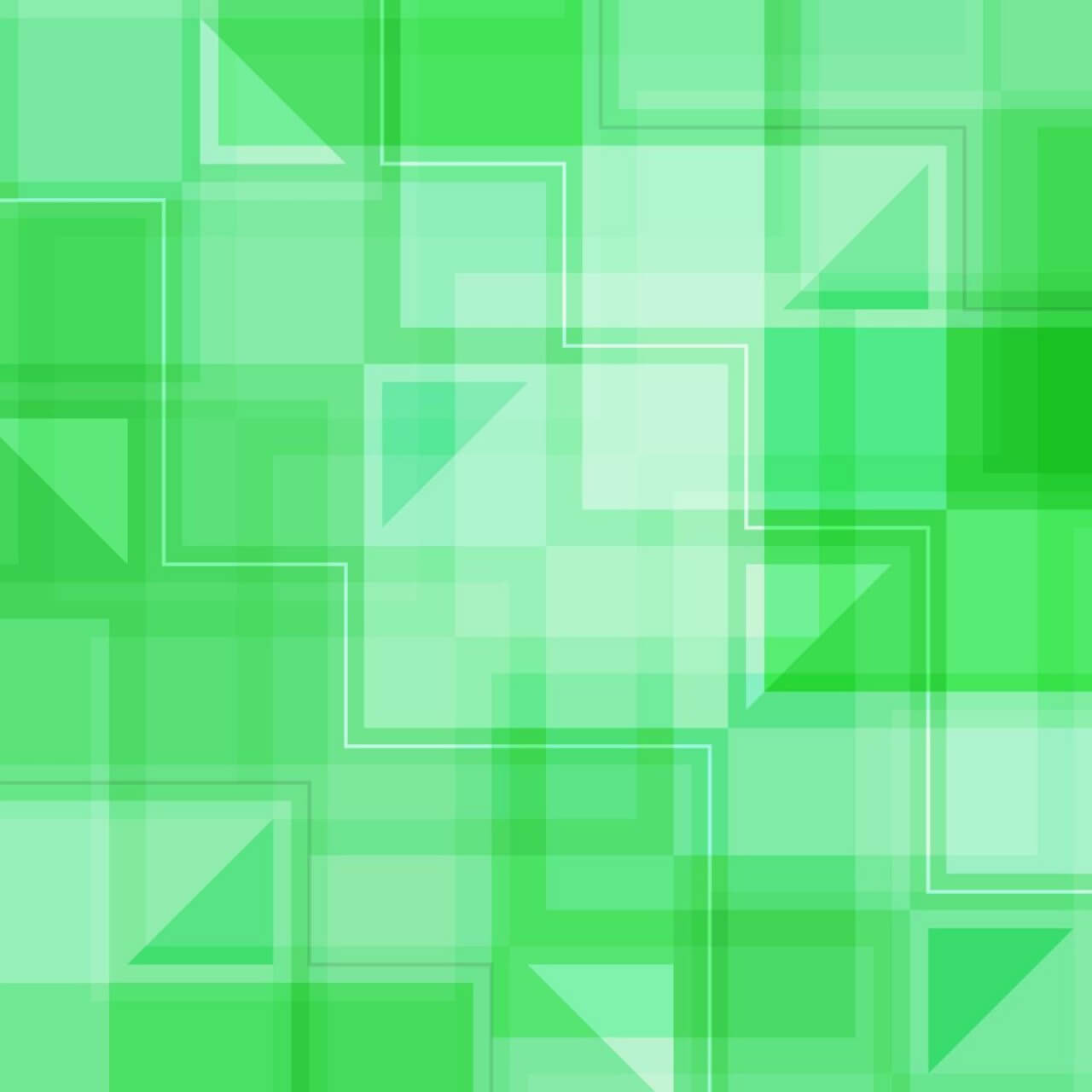 "Free vector ""Green Squares and Triangles"""