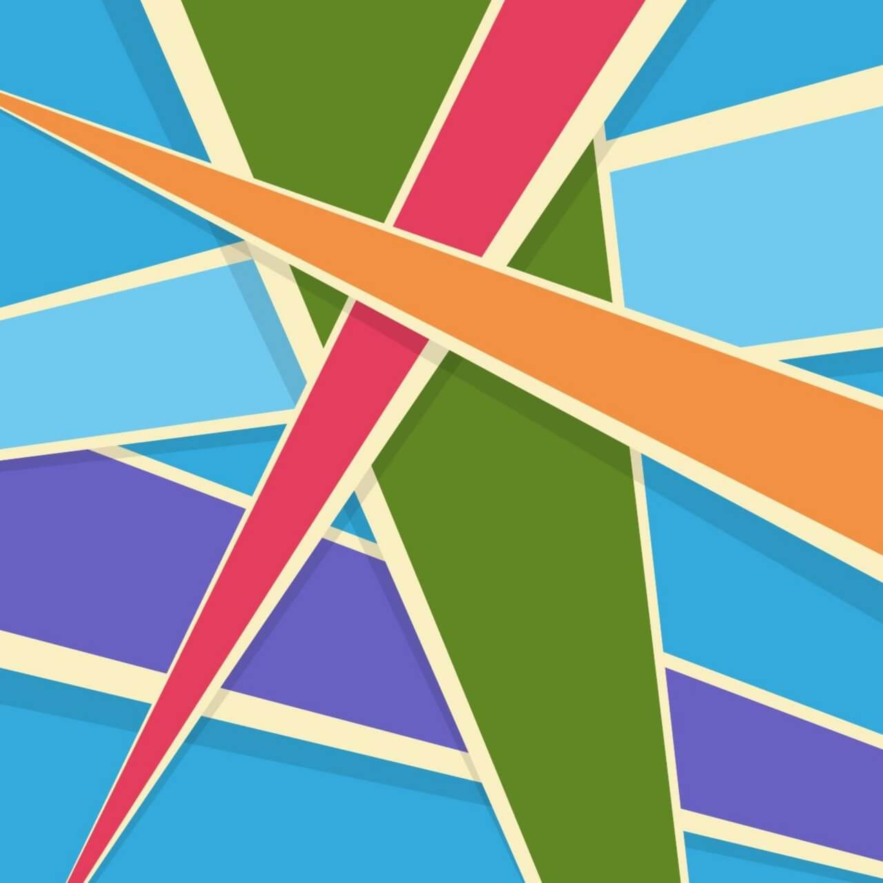 """Free vector """"Colorful Abstract Shapes"""""""