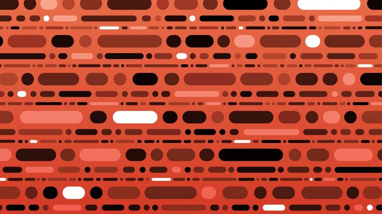 "Free vector ""Abstract Morse Code Pattern"""