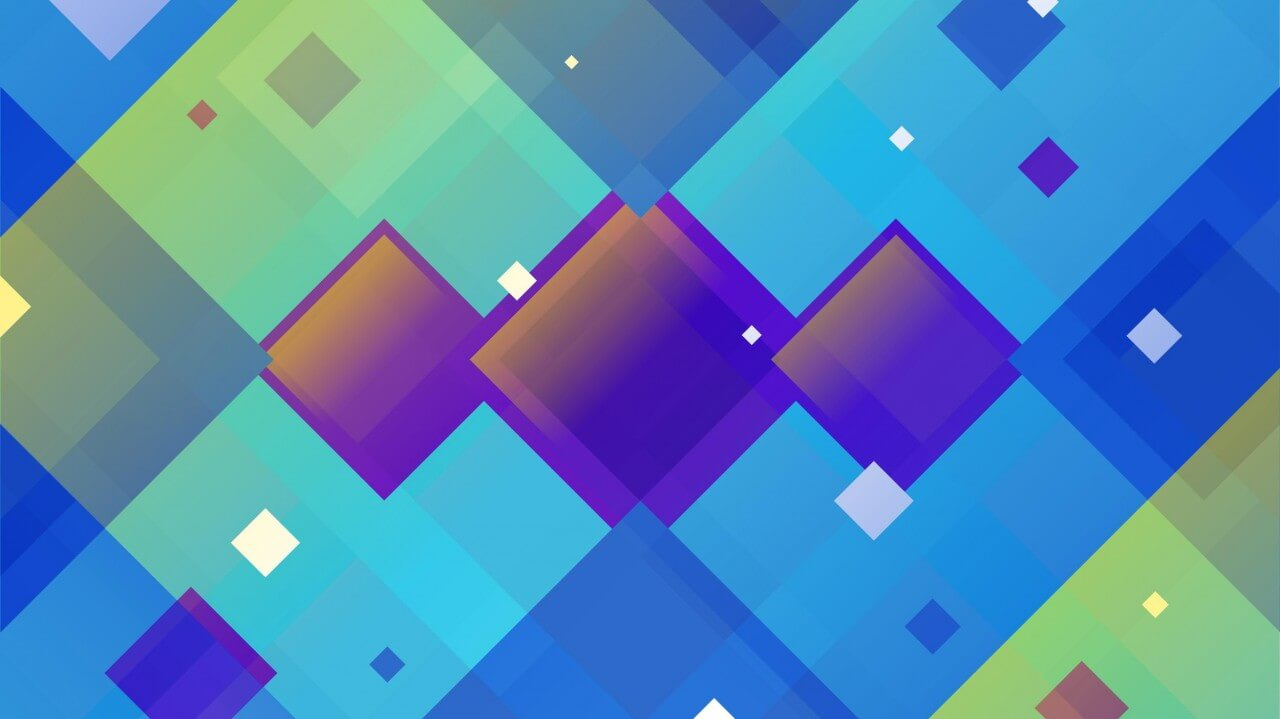 "Free vector ""Abstract Angled Squares"""