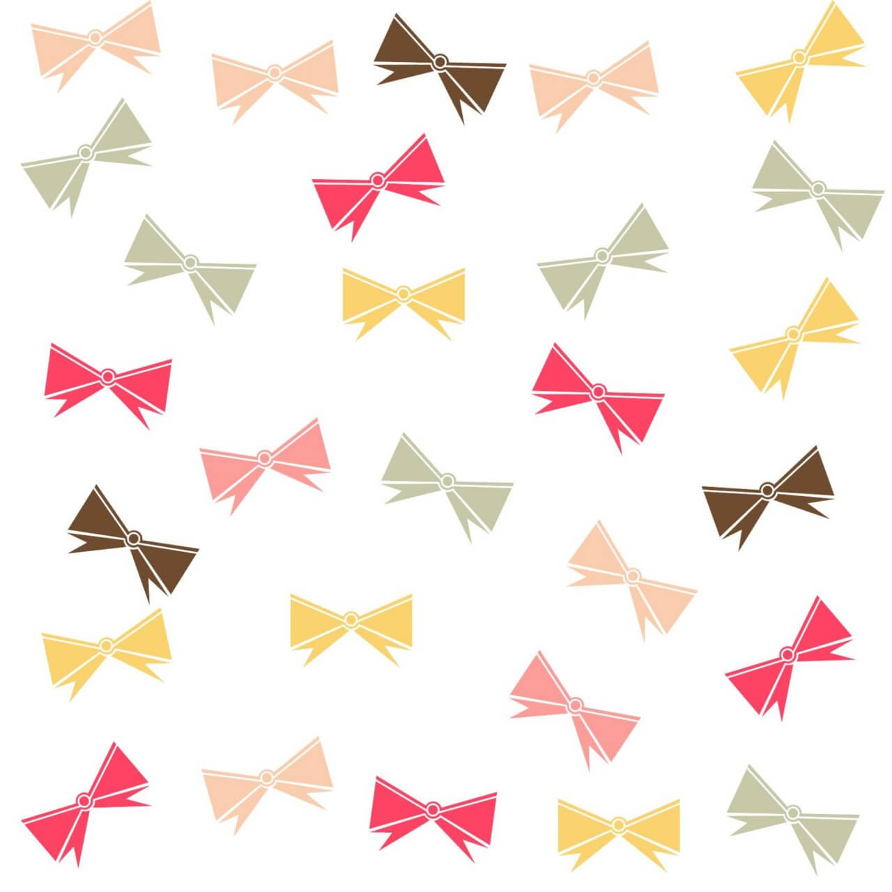 """Free vector """"Pattern with ribbons"""""""