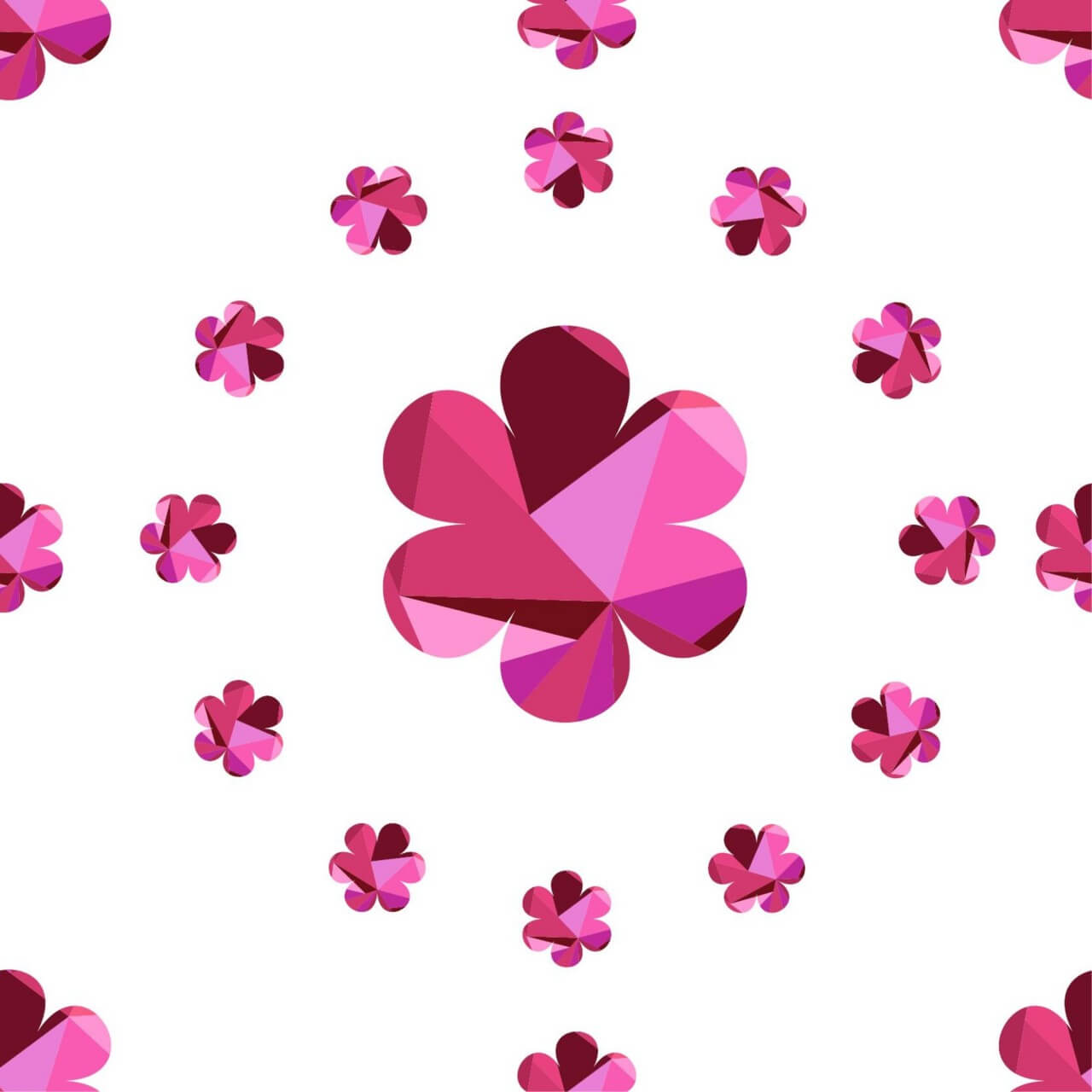 "Free vector ""Flower pattern"""