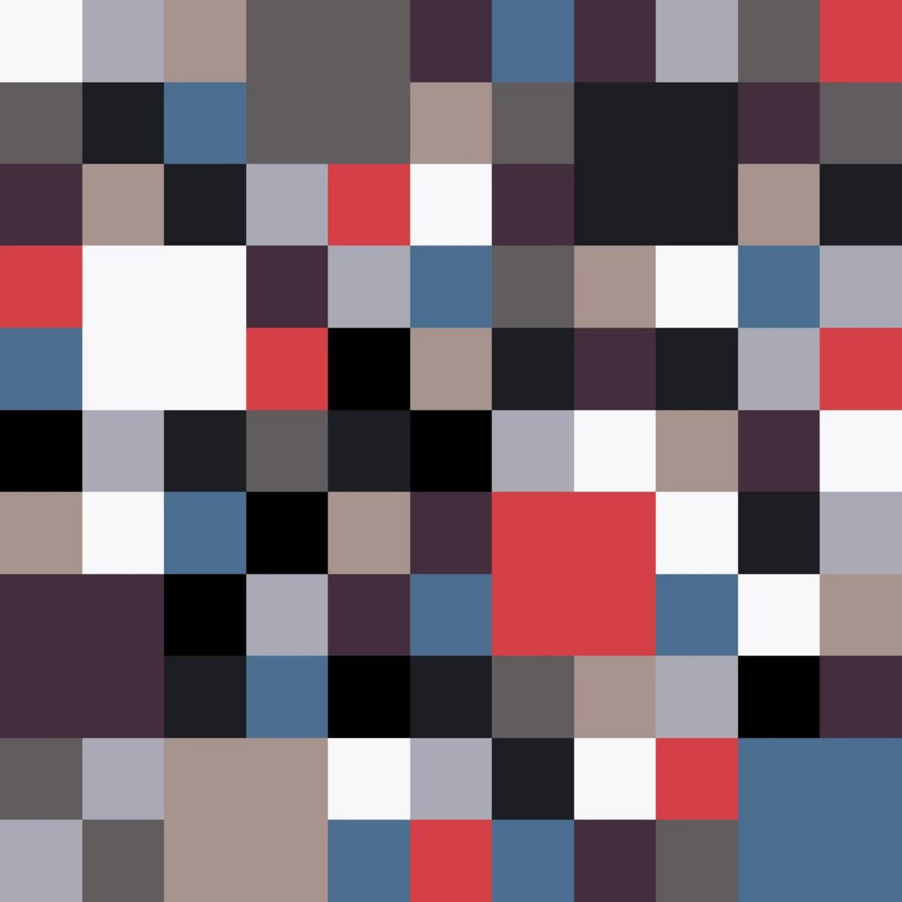 "Free vector ""Pixels Pattern"""