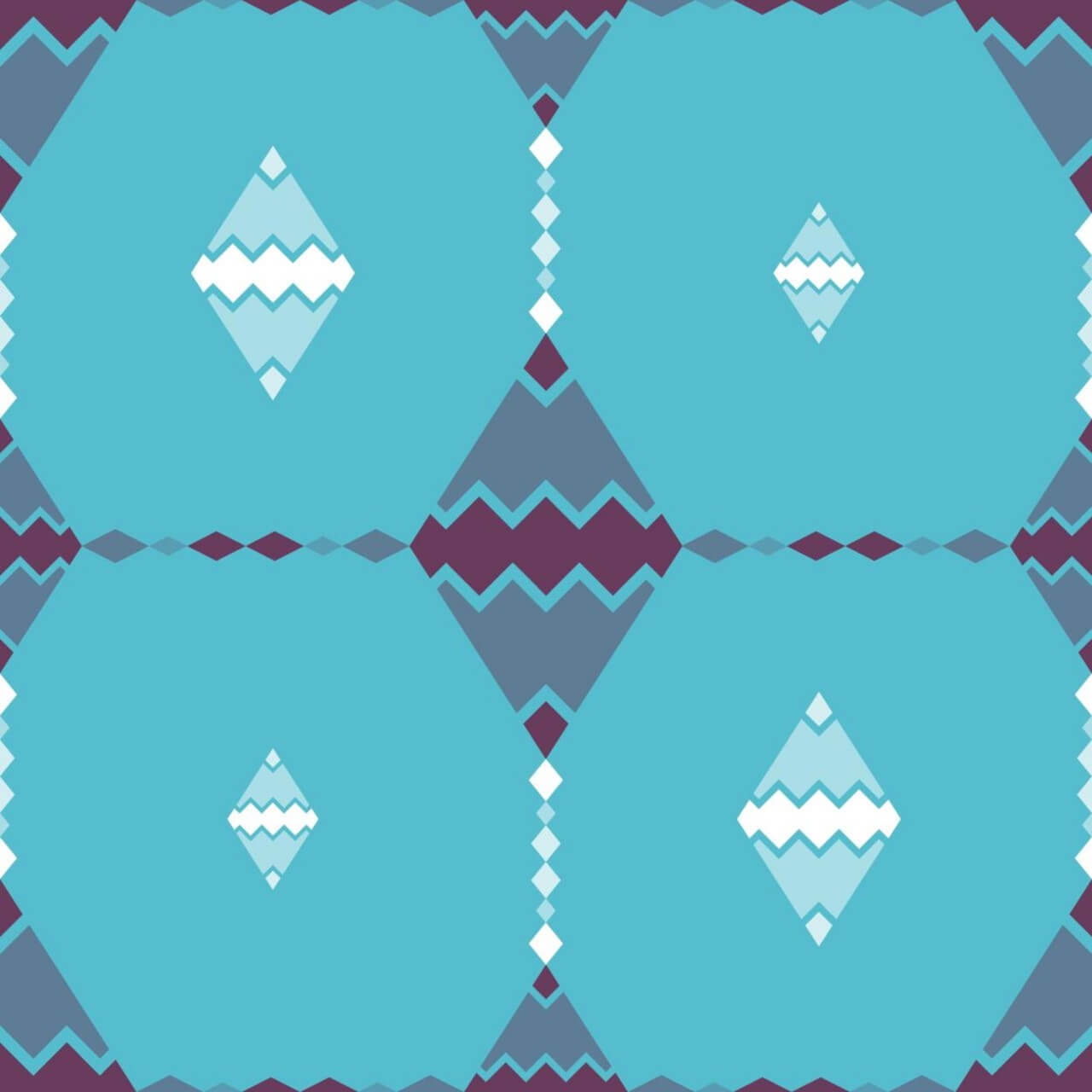 """Free vector """"Abstract Zig Zag Pattern"""""""