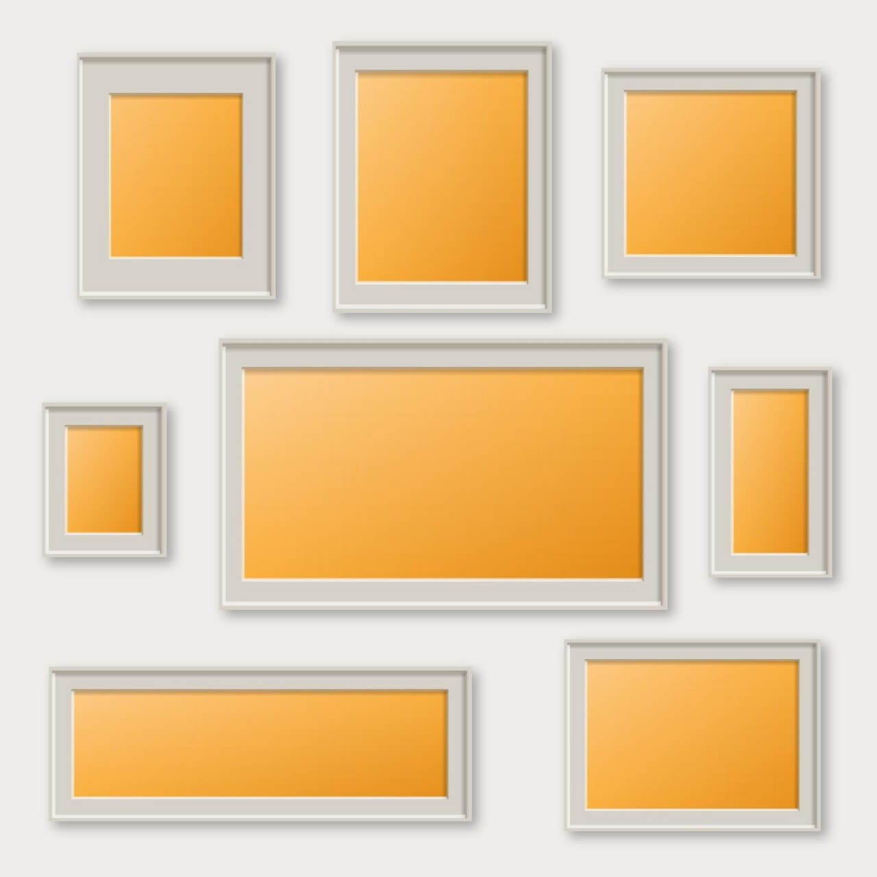 "Free vector ""Vector set of frames"""