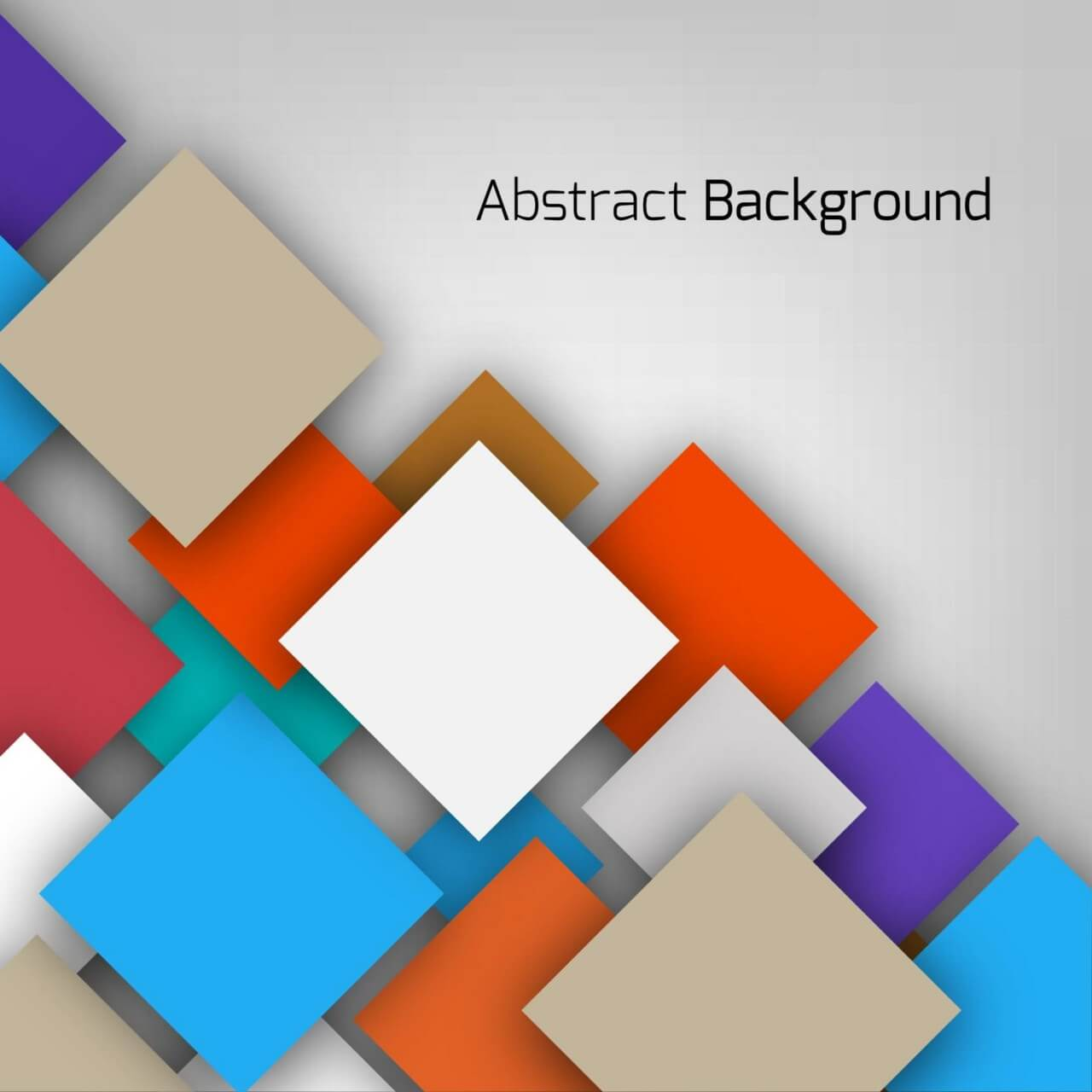 "Free vector ""Abstract vector illustration"""