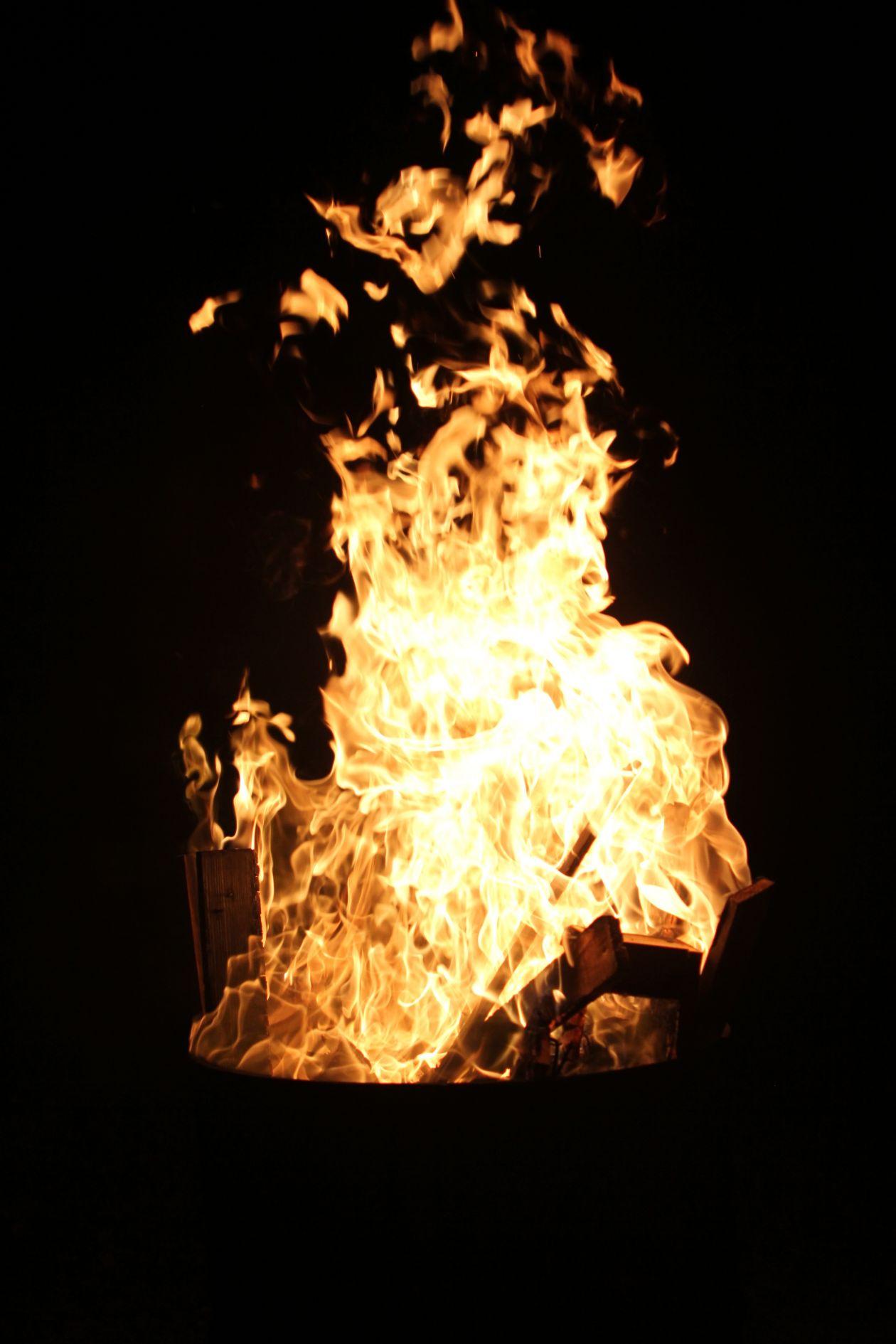 "Free photo ""Bonfire"""