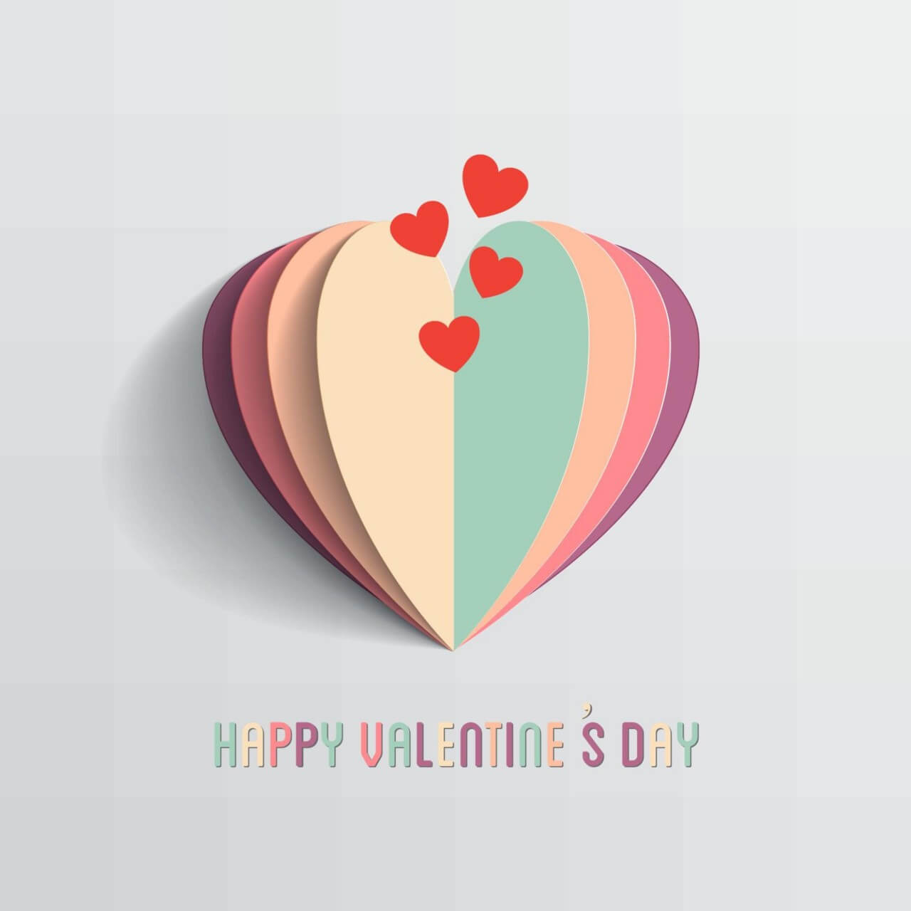 Free Vector Happy Valentine S Day Vector Illustration