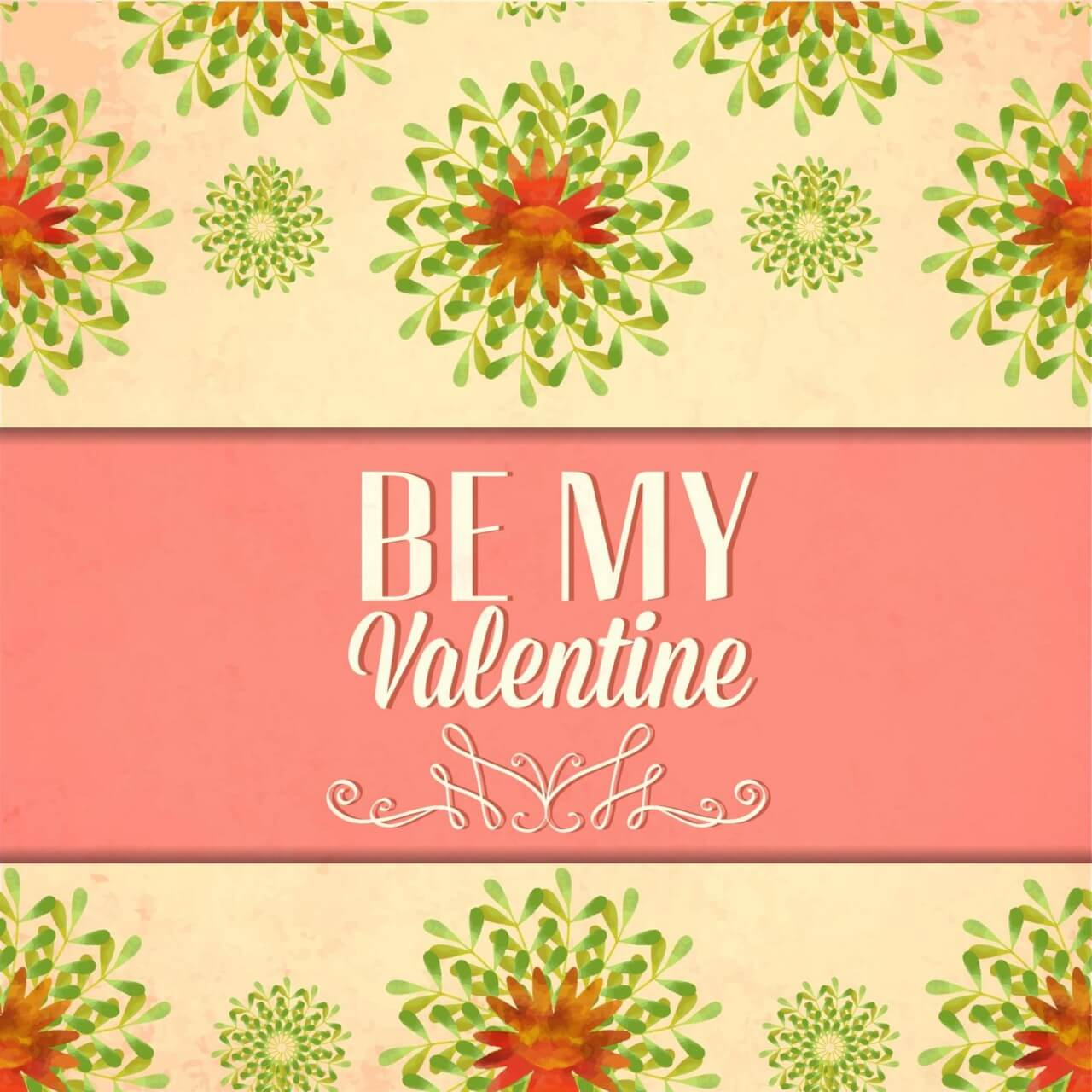 "Free vector ""Happy Valentine's Day vector illustration"""