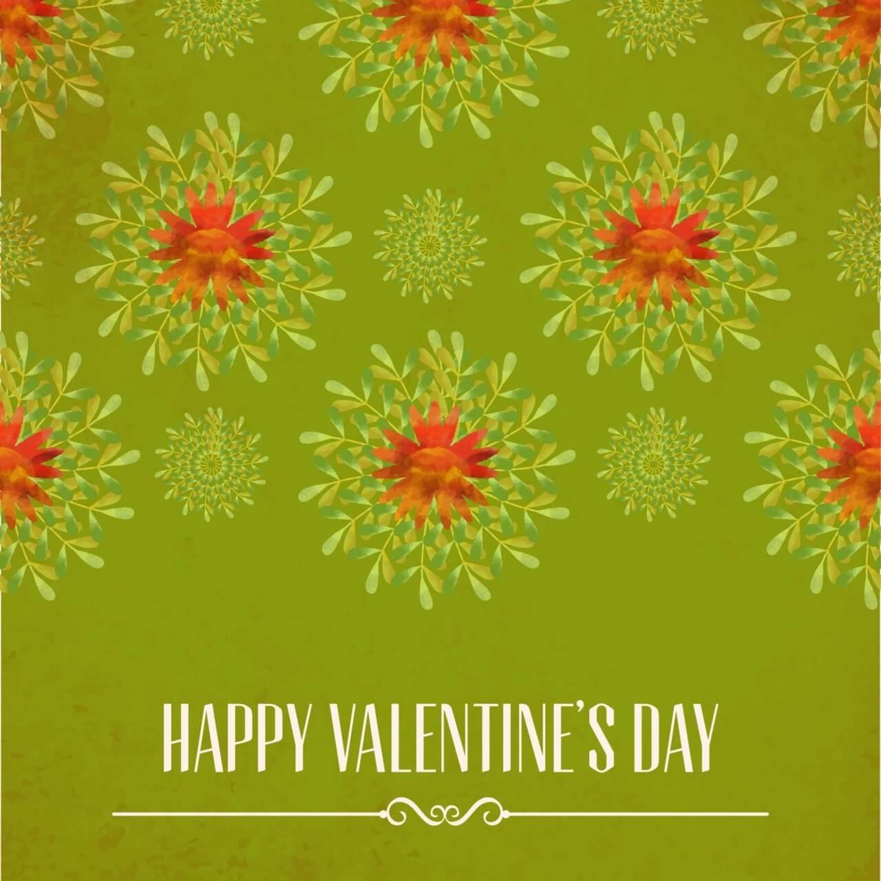 "Free vector ""Happy Valentine's Day vector illustration"""