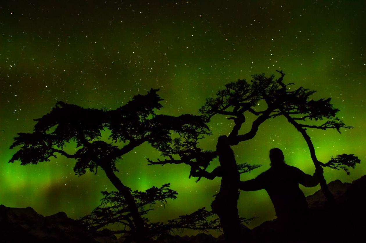"""Free photo """"Aurora borealis"""""""