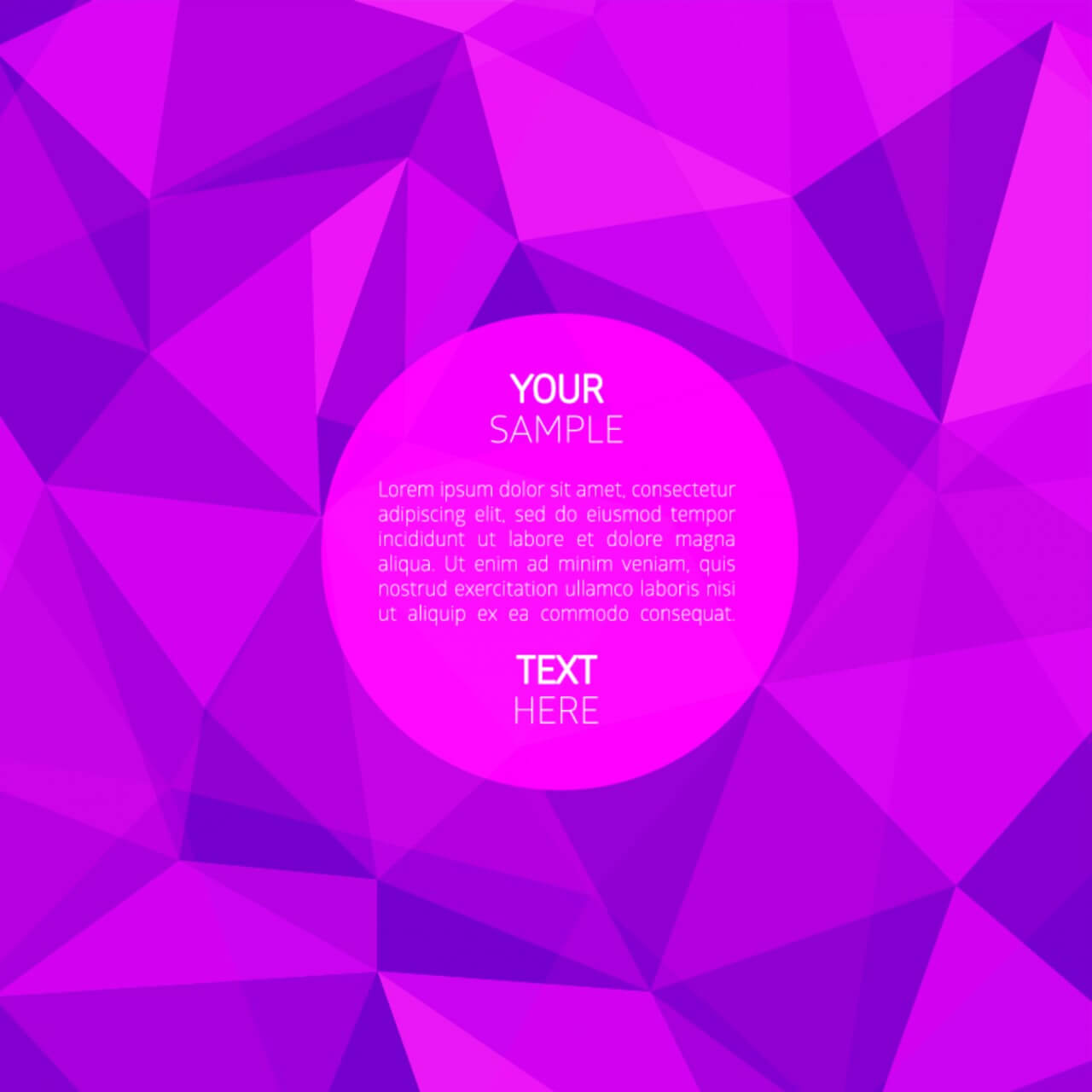 "Free vector ""Abstract purple background"""