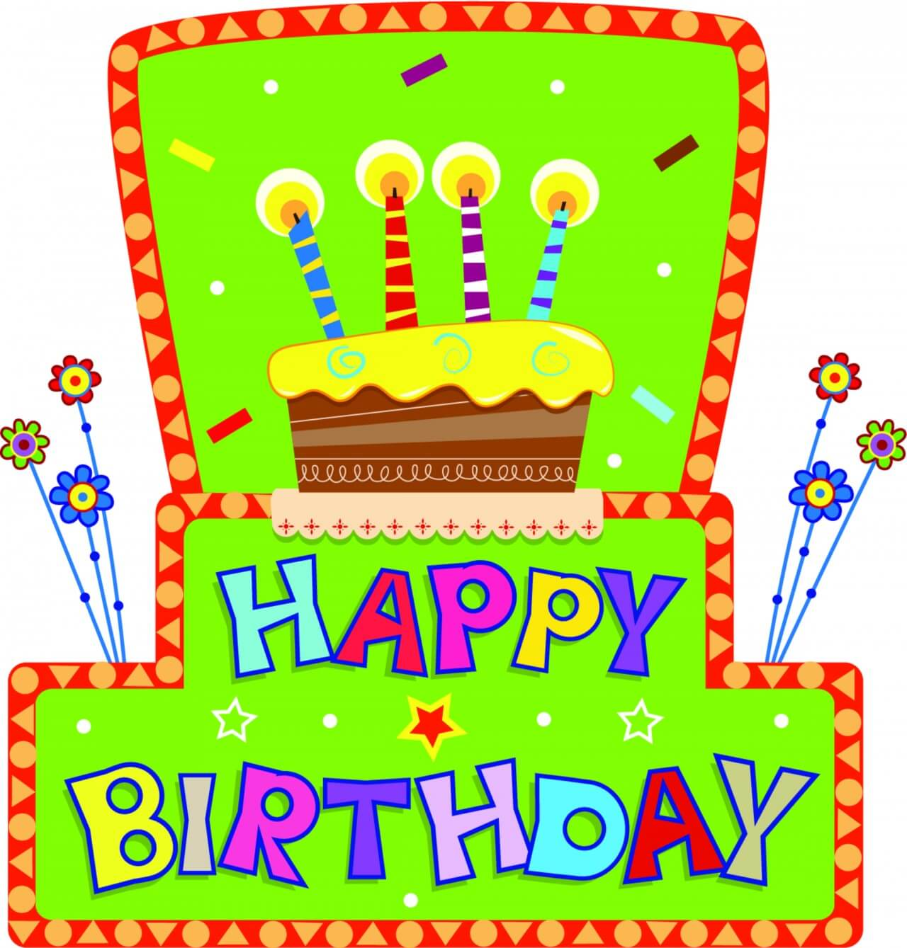"Free vector ""Birthday Sign"""