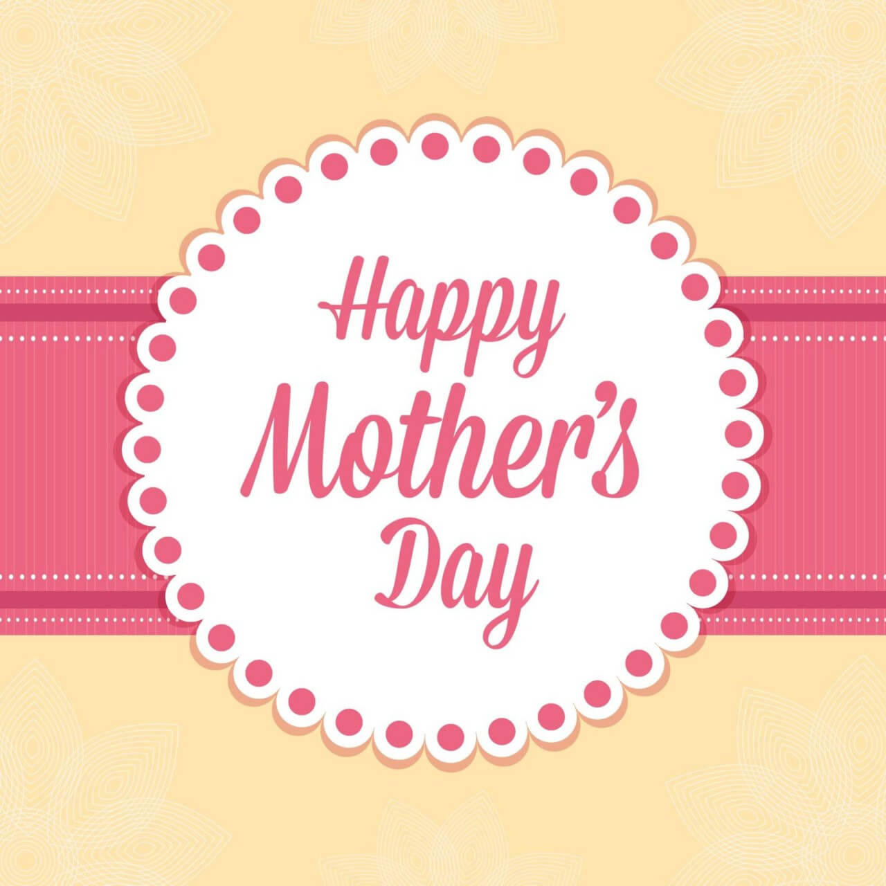 "Free vector ""Happy Mother's Day Card"""