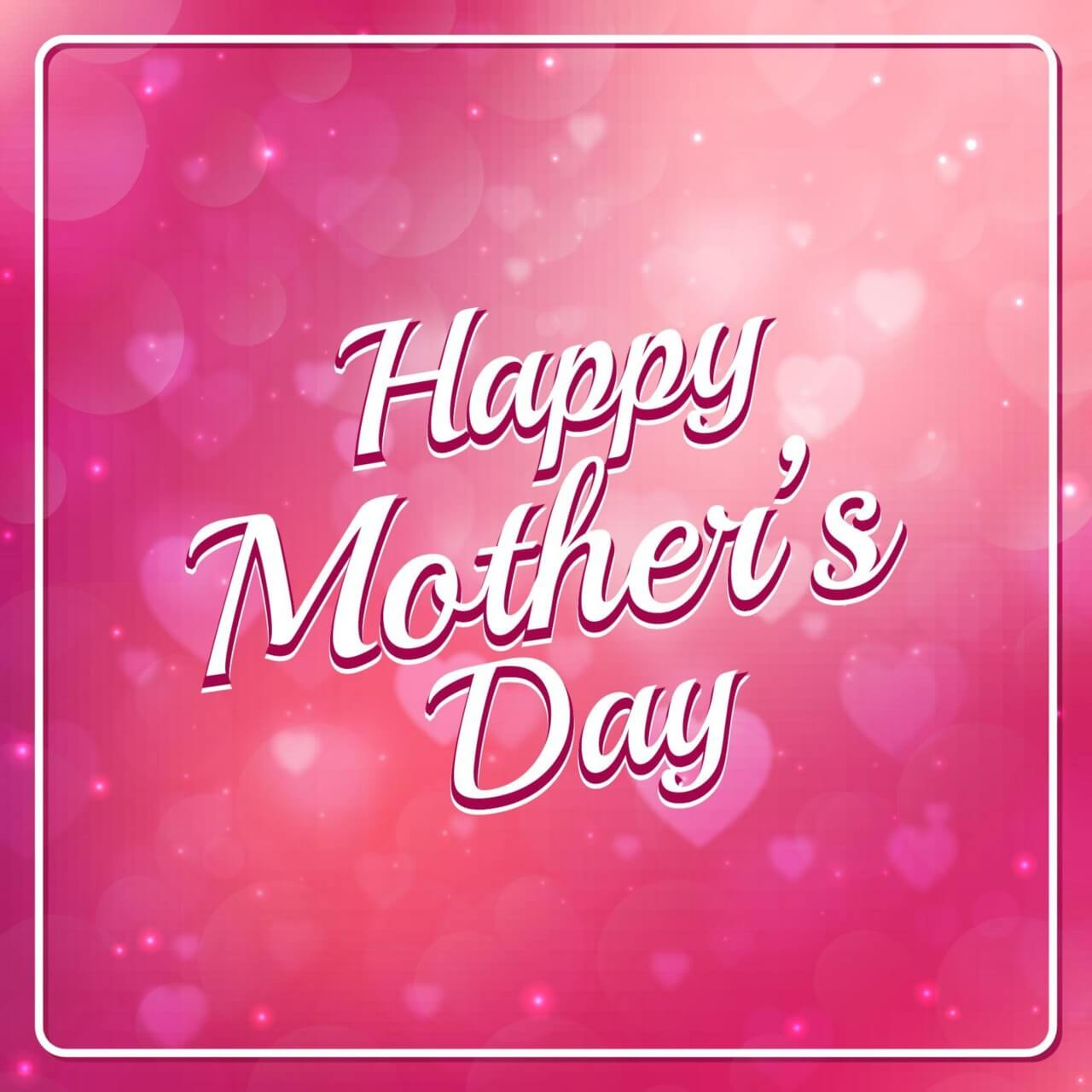 "Free vector ""Happy Mother's Day Illustration"""