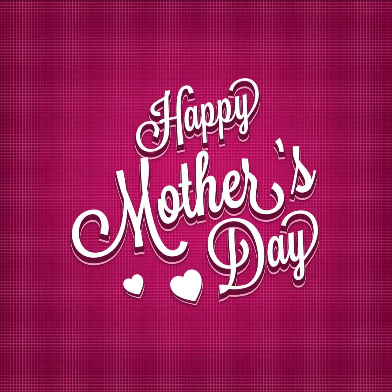 """Free vector """"Mother's day Typography Illustration"""""""
