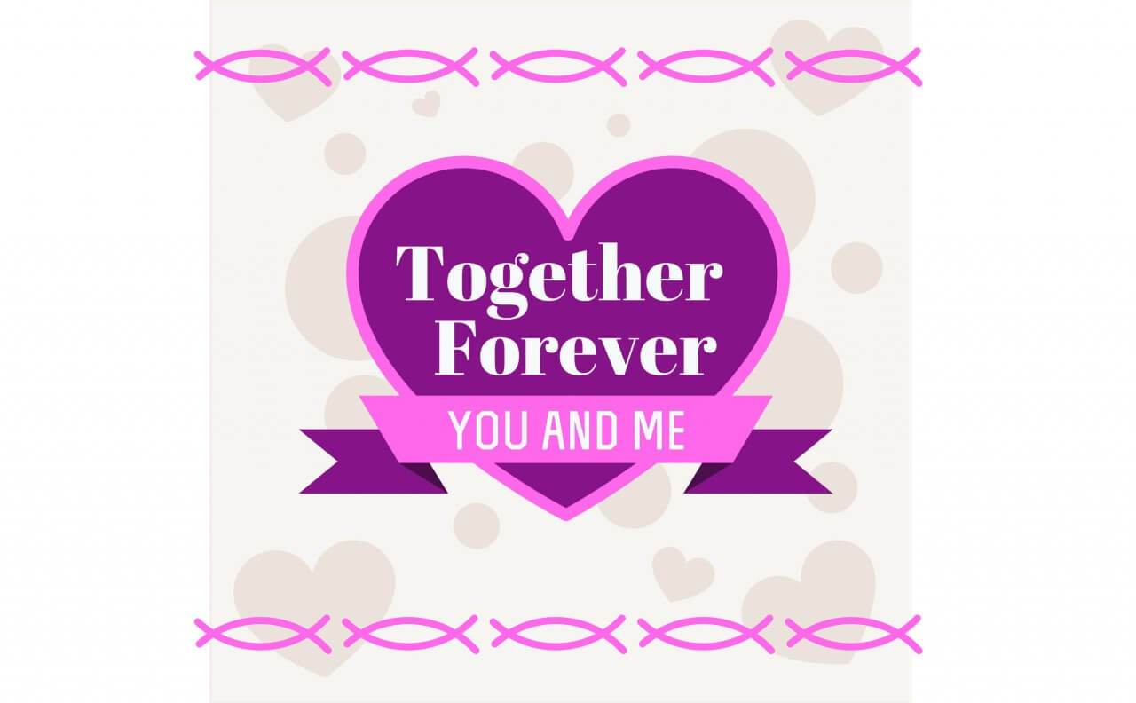 "Free vector ""Vector card with some text for wedding or birthday"""
