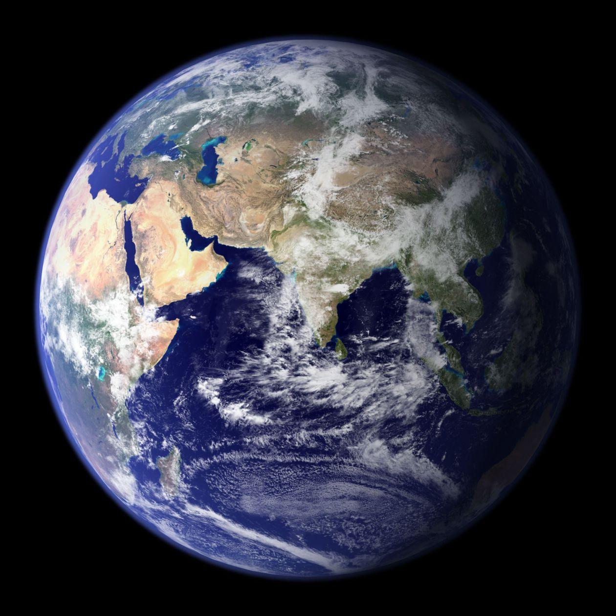"Free photo ""Blue planet"""