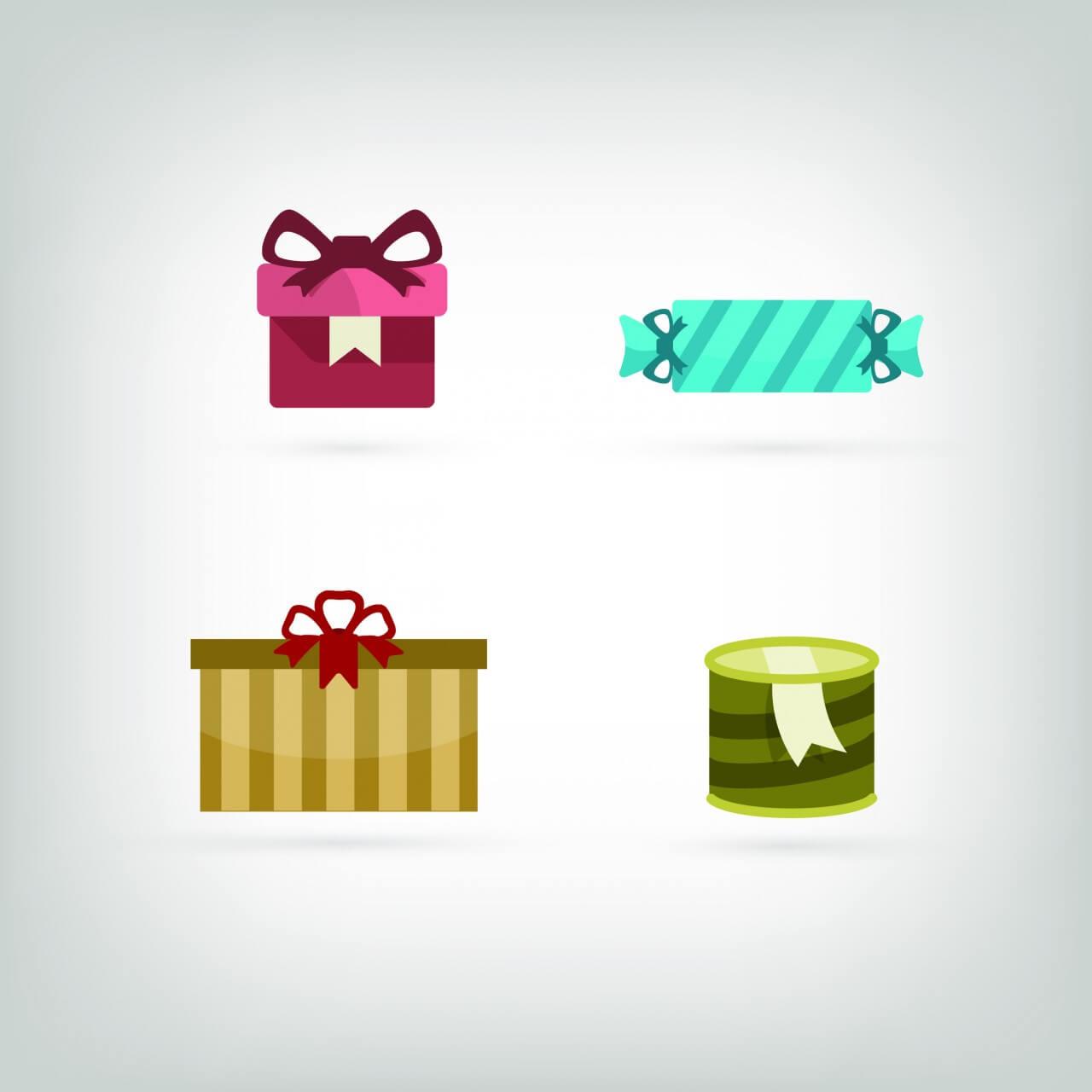 """Free vector """"Vector icons for birhday or wedding design"""""""