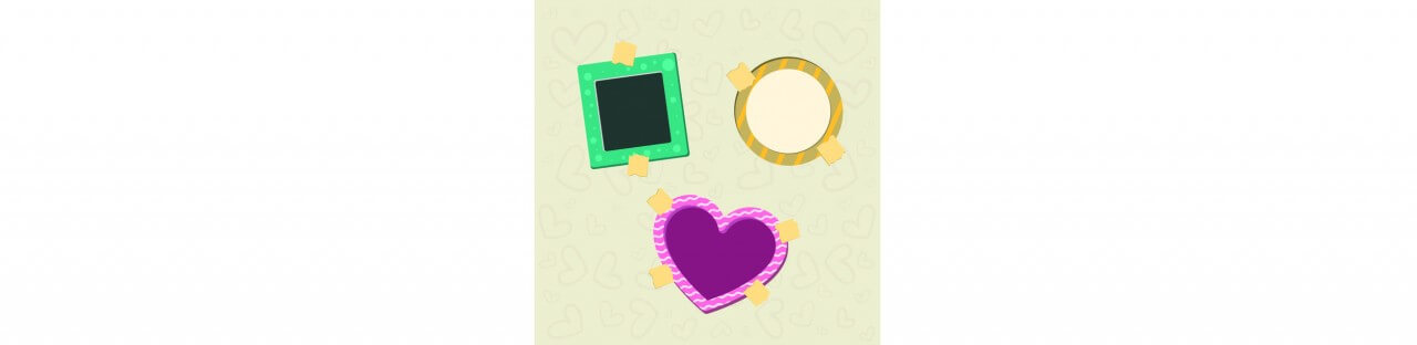 "Free vector ""Vector decoration frames for birhday or wedding design"""