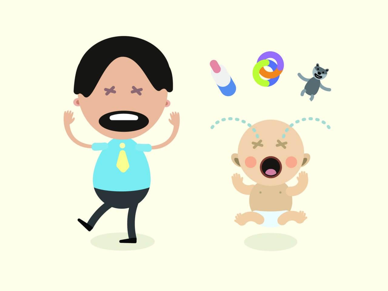 "Free vector ""Vector cartoon family characters illustration"""