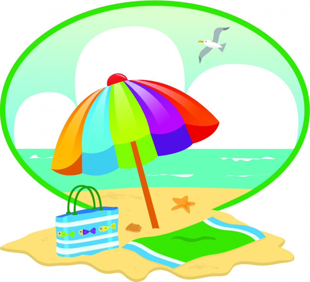 "Free vector ""Summer Beach Day"""