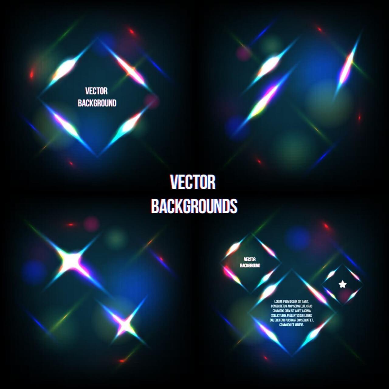 "Free vector ""Geometric light background"""