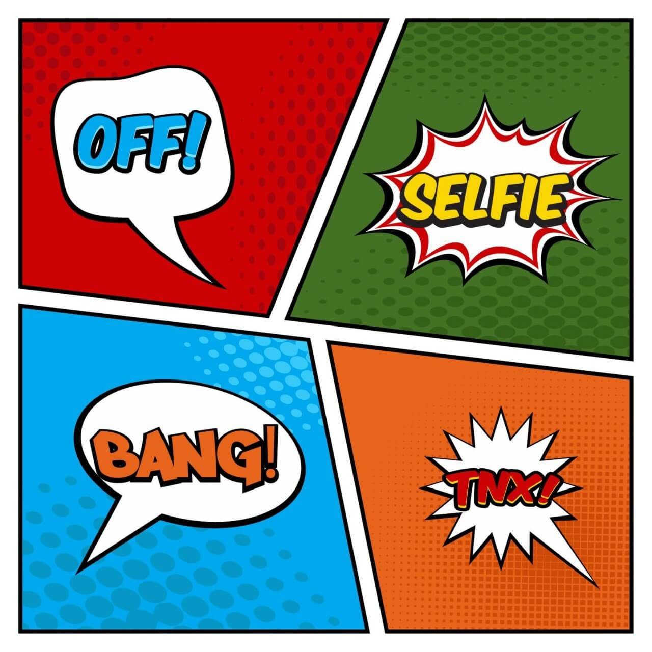 "Free vector ""Comic Book Page"""
