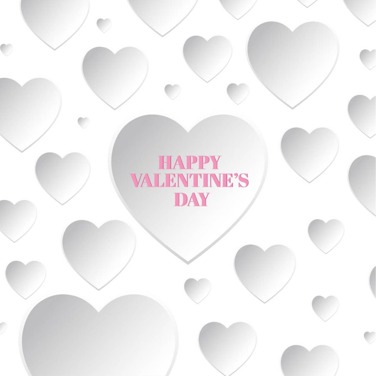 "Free vector ""Happy Valentine's Day Card"""