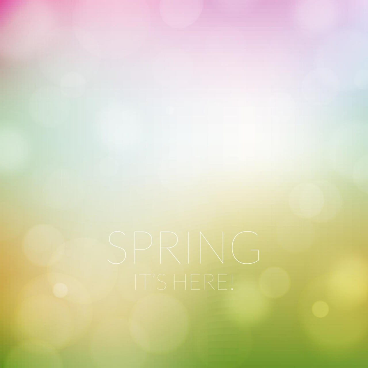 "Free vector ""Spring background"""