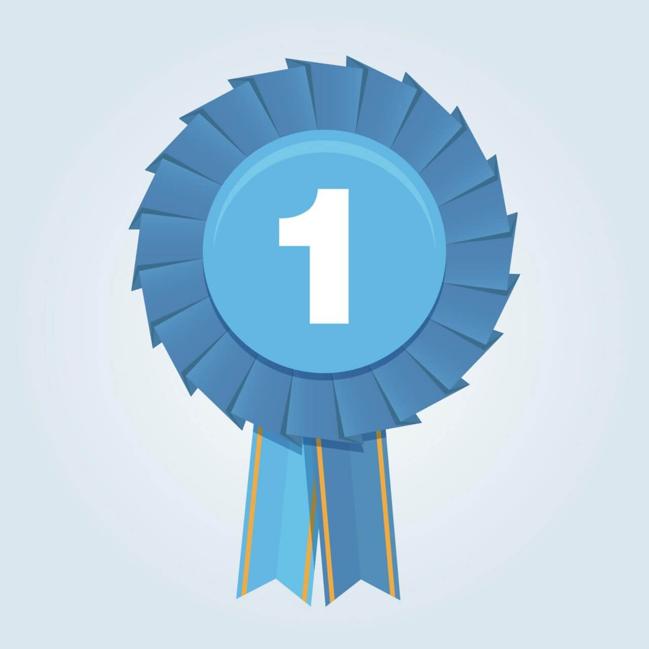 "Free vector ""First place ribbon"""