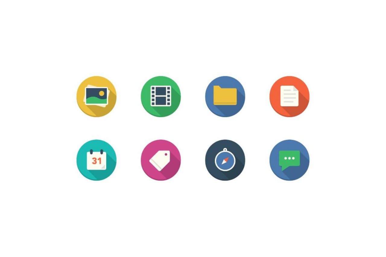 "Free vector ""Filo Icons - Mini Set 1"""